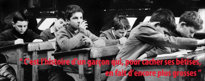Atelier cin ma 1 les 400 coups de fran ois truffaut 1959 les fiches du cin ma - Cinema les 400 coups villefranche ...