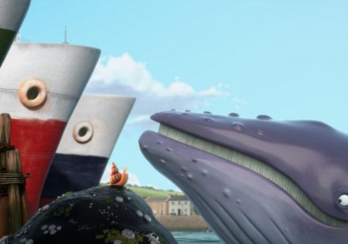 La Baleine et l'escargote de Max Lang et Daniel Snaddon
