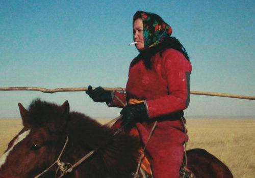La Femme des steppes, le flic et l'œuf de Wang Quan'an