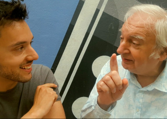 Rencontre avec Noël Godin au Sofilm Summercamp 2019